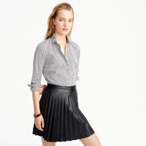 JCREW Stretch Perfect Shirt in Classic Stripe